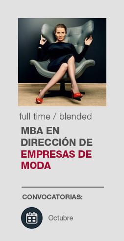 MBA Dirección Empresas de Moda