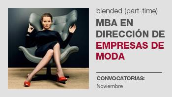 MBA en Dirección de Empresas de Moda